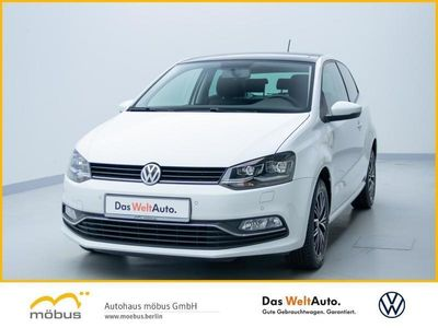 gebraucht VW Polo 1.0 ALLSTAR LED+PANORAMADACH+PDC+USB+