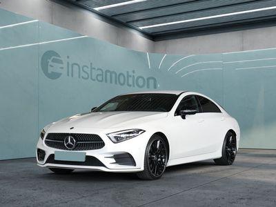 gebraucht Mercedes CLS300 CLS 300d Coupι AMG Line Night Widescr. Burmeste