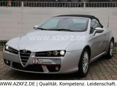 gebraucht Alfa Romeo Spider 2.4 JTD 20V SILBER/LEDER ROT/NAVI/XENON