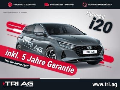 gebraucht Hyundai i20 Intro Edition T-GDI Navi Rückfahrkam. Fernlichtass. LED Multif.Lenkrad