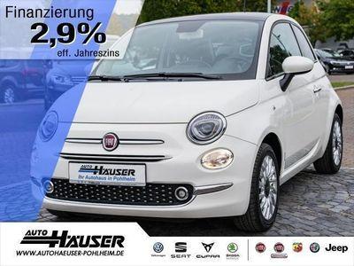 gebraucht Fiat 500 1.2 8V S+S LOUNGE NAVI PANO KLIMA ALU PDC (Einpark
