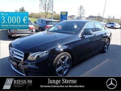 gebraucht Mercedes 450 E4MATIC Limousine AMG+LED+Kamera+Navi+PDC