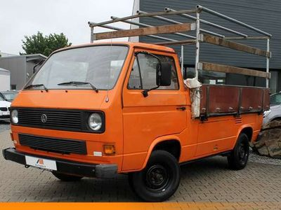 gebraucht VW T3 1.6 Diesel Pritschenwagen Leder AHK 5-Gang 3S