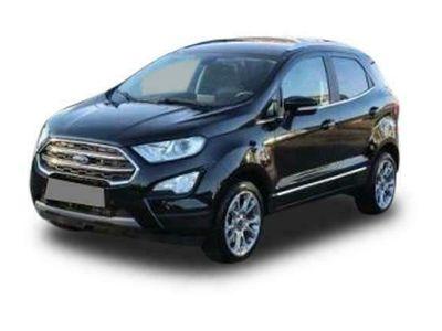 gebraucht Ford Ecosport EcoSportTitanium X 1.0 92kW Rückfahrkamera