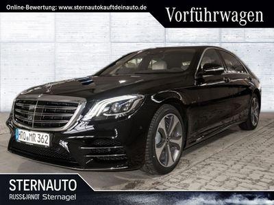 gebraucht Mercedes S560 L AMGLine BLP154736 Euro Fahrp 360 Grd ILS