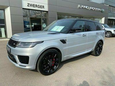 "gebraucht Land Rover Range Rover Sport D350 HST ACC 22""Alu Bluetooth Head Up Display LED"