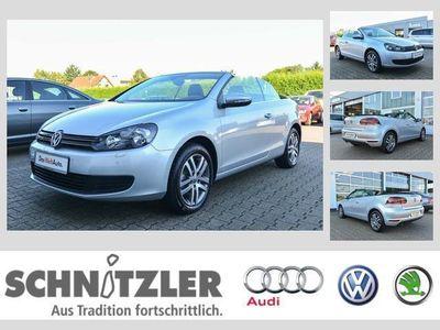 gebraucht VW Golf Cabriolet VI 1.6 TDI BMT NAVI/TEMPOMAT/PARKPILOT/CLIMATRONI