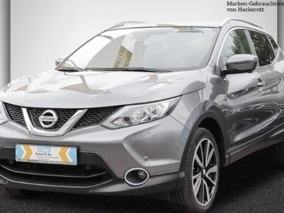 gebraucht Nissan Qashqai Tekna 1.6 dCi LED Navi Keyless AD e-Sitze Rückfahrkam. Fernlichtass. PDCv+h