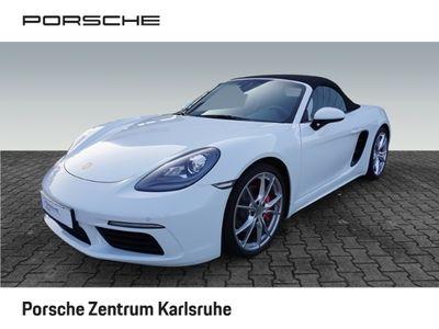 gebraucht Porsche 718 Boxster S 2.5 PASM Sportabgasanlage 20-Zoll