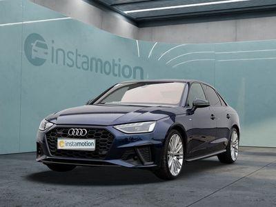 gebraucht Audi A4 A4Limo 40 TDI Q S LINE LM19 HuD NAVI LEDER