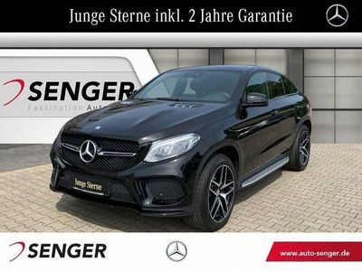 gebraucht Mercedes GLE400 4M Coupé Panorama+AMG-Line+Comand+Night+