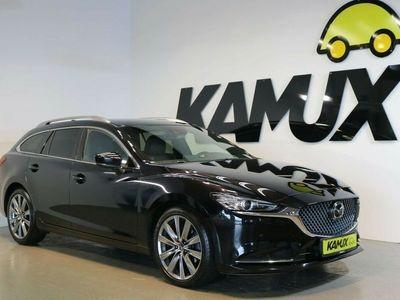 gebraucht Mazda 6 2.2 CD 184 Sports-Line EU6d-Temp +HUD +LED +Bose +Leder +Spurhalte-Assi.
