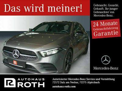 "gebraucht Mercedes A220 4M AMG Night Memory Pano 19"" Sound Ambi-L"