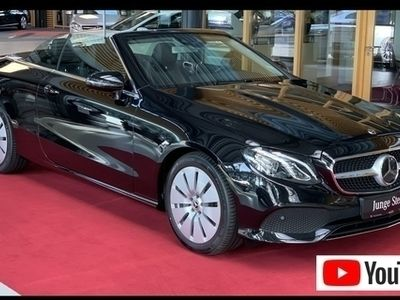 second-hand Mercedes E300 Cabrio Fahrassistenz Widescreen Massage