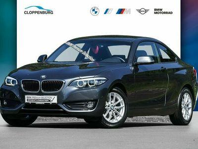gebraucht BMW 220 i Coupé Advantage HK HiFi DAB WLAN Tempomat