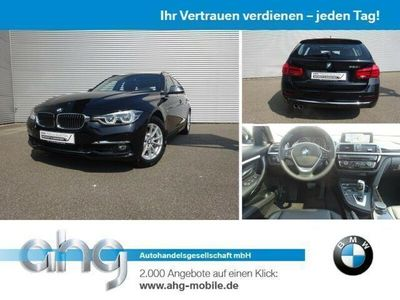 gebraucht BMW 320 i Touring Luxury Line Navi Prof. Aut. AHK PDC