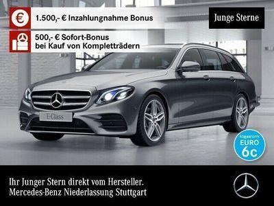 gebraucht Mercedes E220 T 4M AMG 360° Multibeam Totwinkel PTS 9G