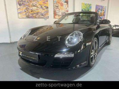 gebraucht Porsche 997 C2 Cabrio - BLACK EDITION - Sondermodell