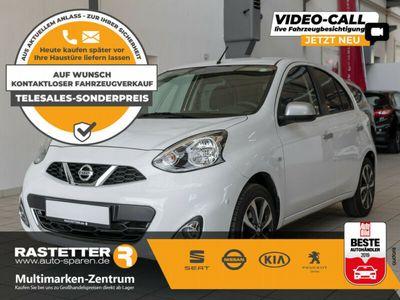 gebraucht Nissan Micra 1.2 n-tec 5T Navi Klimaauto PDC Shzg LMF