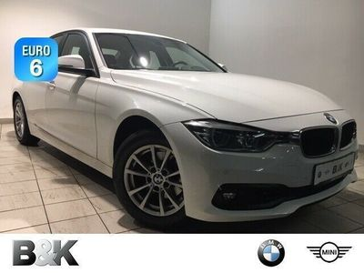 gebraucht BMW 320 dA Navi, LED, Sitzh, PDC, Tempo, Klima, MFL, Alu16