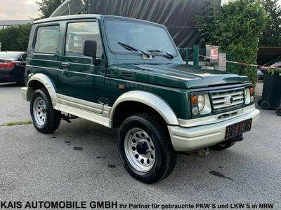 gebraucht Suzuki Samurai SJ1.9 TD Van 4x4*73tkm*TÜVNEU*GermanCar