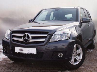gebraucht Mercedes GLK220 CDI DPF BlueEFFI+NAVI+KAMERA+LEDER+PANO