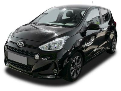 gebraucht Hyundai i10 i10YES! 1.2 Navi Temp SHZ PDC beh.Lenkrad Klima