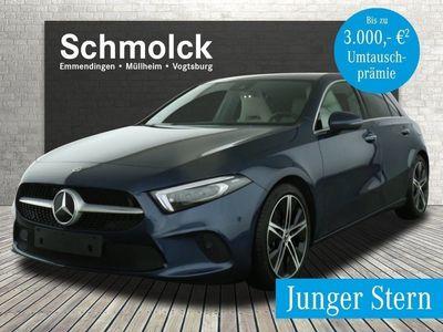 "gebraucht Mercedes A250 4M PROGR/NAVI PRE/LED/AHK/KEYLESS/AMBI/18"""