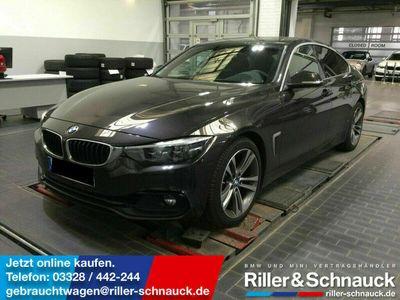 gebraucht BMW 420 i Sport Line LEDER+NAVI+LED+HUD+eGSD