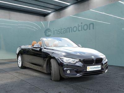 gebraucht BMW 420 420 iA Cabrio Sport Line LEDER+NAVI+LED+H/K