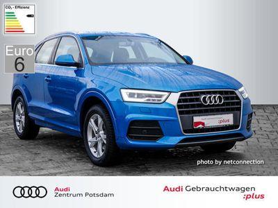 gebraucht Audi Q3 Sport 2.0 TDI LED Navi PDC SHZ LM LED EU6