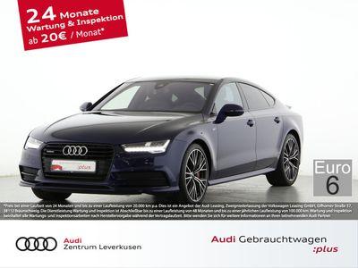 gebraucht Audi A7 3.0 competition quattro S line TIPTR BOSE LED - Leder,Klima,Sitzheizung,Servo,