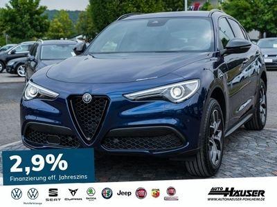 gebraucht Alfa Romeo Stelvio B-Tech MY19 2.0 Turbo AT8 Q4 VELOCE 19 ALU