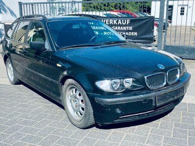 gebraucht BMW 320 Baureihe 3 Touring d KLIMAAUTOMATIK/ AHK