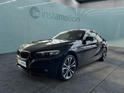 gebraucht BMW 220 220 i SportLine elektr. Sitze Memory HiFi Navigation