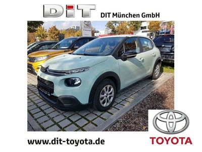 gebraucht Citroën C3 1.2 PureTech 82 Feel *AHK*PDC*Tempomat*