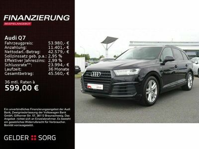 gebraucht Audi Q7 45 TDI qu. S line Rückfahrk*AIR*LED