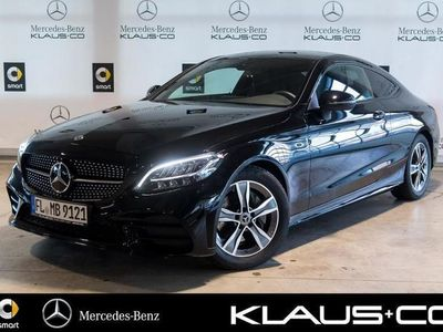 gebraucht Mercedes C200 Coupé AMG Burmester+Night+LED+Kamera+Navi
