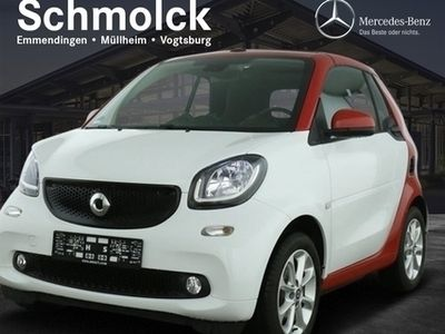 gebraucht Smart ForTwo Cabrio 66 KW+Passion+Cool&Audio+LED+Sitzh