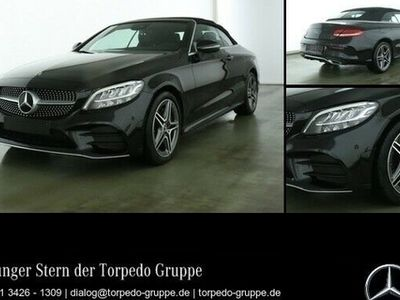 gebraucht Mercedes C200 CABRIO AMG AIRSCARF+LED+KAMERA+KEYLESS+PTS