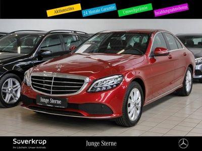gebraucht Mercedes C180 Exclusive Navi/LED/Kamera/CarPlay/SHZ/PDC