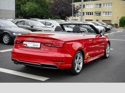 gebraucht Audi A3 Cabriolet sport 35 TFSI S tronic 2x S line, Navi,