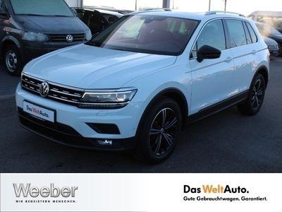 gebraucht VW Tiguan 2.0 TDI IQ Drive Pano AHK Navi LED Kamer