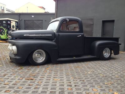 verkauft ford f100 f1 f150 v8 pickup gebraucht 1952. Black Bedroom Furniture Sets. Home Design Ideas