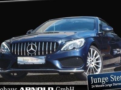gebraucht Mercedes C200 Cabrio AMG Line Vorr. Navi LED Park-Pilot BC
