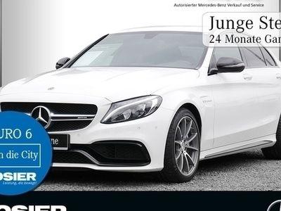 gebraucht Mercedes C63 AMG AMG Night LED Navi Burmester AMG Perf.-Abga