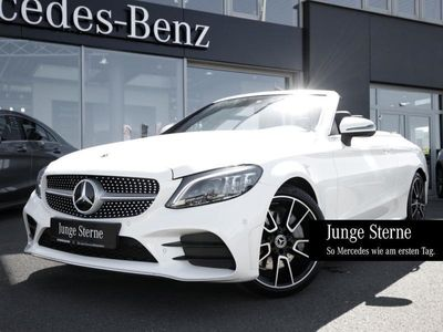 gebraucht Mercedes C300 d Cabrio AMG Navi LED Kamera SpurAssist