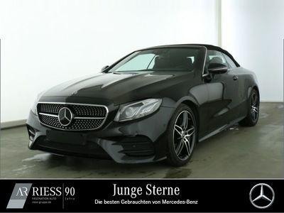 gebraucht Mercedes E300 Cabriolet AMG+Burmester+Fahrassist.+360°
