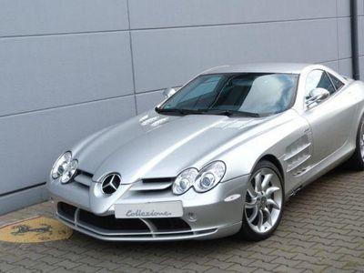 gebraucht Mercedes SLR McLaren Coupe *SILBER / SCHWARZ*