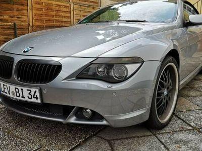 gebraucht BMW 630 Cabriolet Sportsitze NaviProf. 20 Zoll